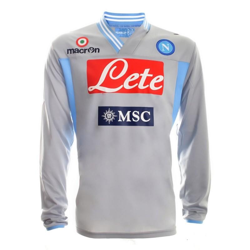 Napoli goalkeeper shirt l/s 2012/13 Macron