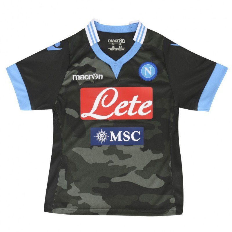 Naples replica jersey away camouflage baby 2013/14 Macron