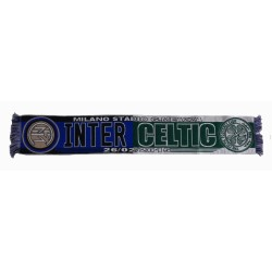 FC Inter vs Celtic sciarpa match ufficiale