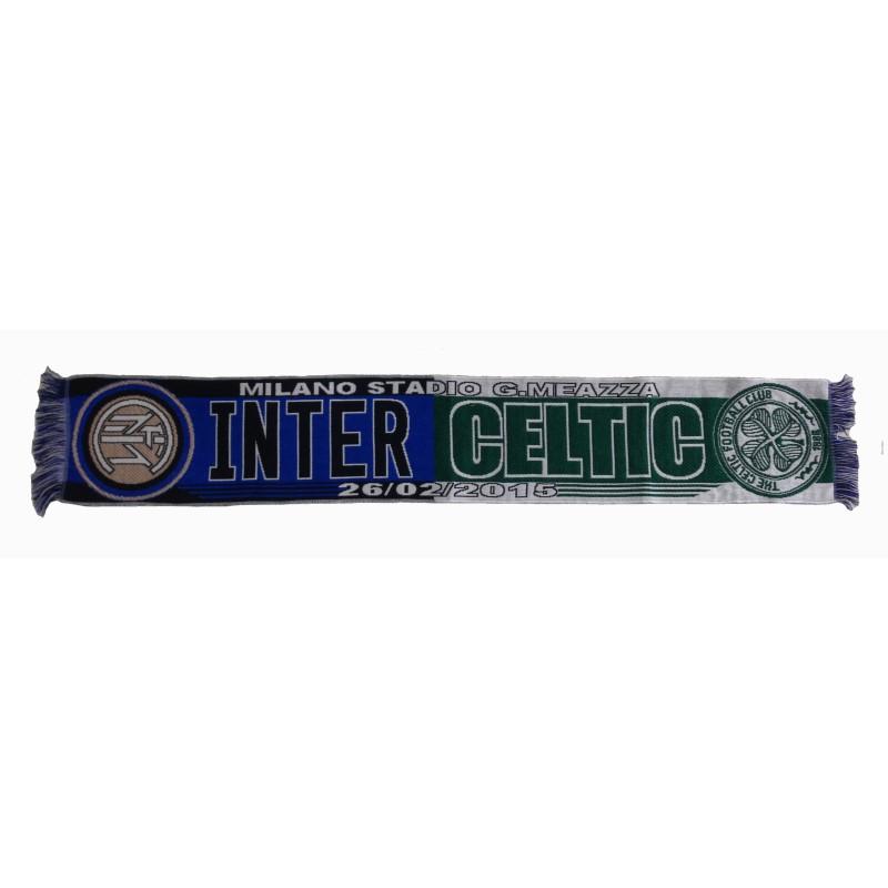 FC Inter vs Celtic écharpe pour correspondre à l'officiel