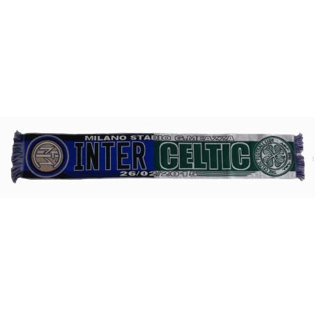 Inter vs Celta bufanda partido EUL Europa League oficial
