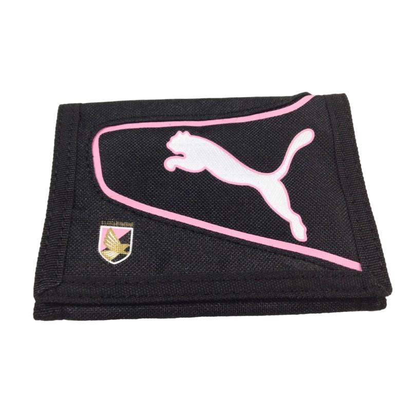 Palerme porte-monnaie noir de l'équipe de Puma