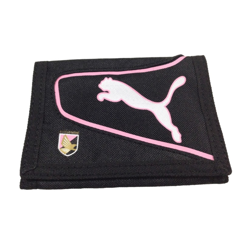 Palermo black wallet team Puma