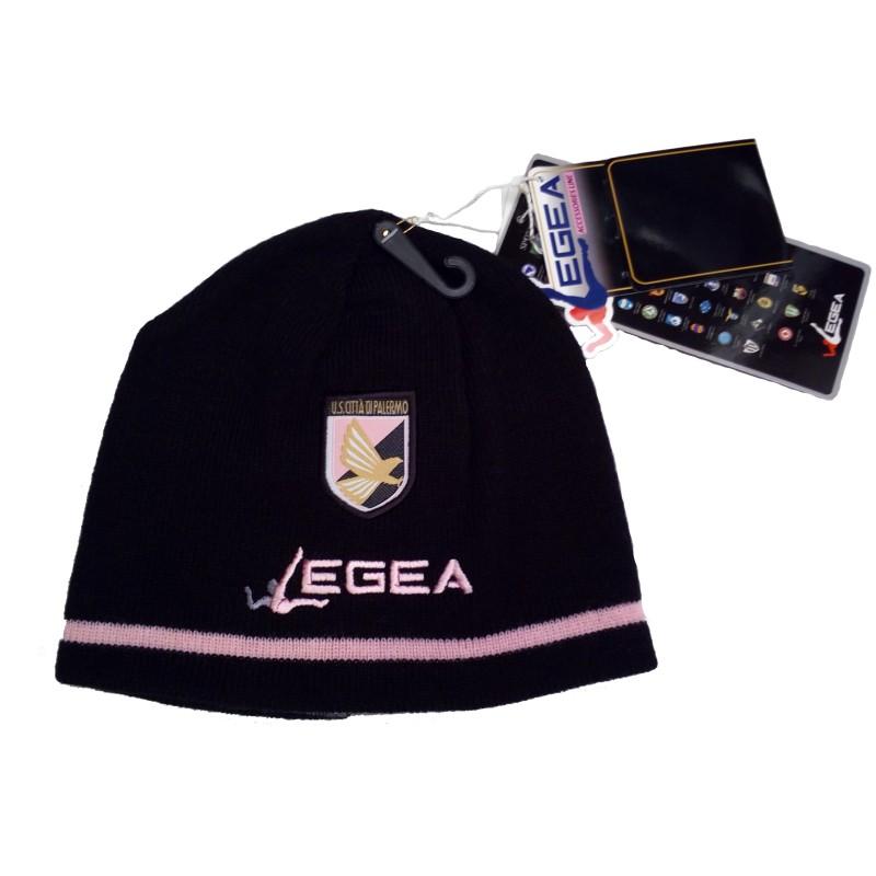 Palermo zuccotto cappello reversibile nero Legea