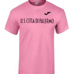Palermo logo t-shirt Sportswear Joma in rosa