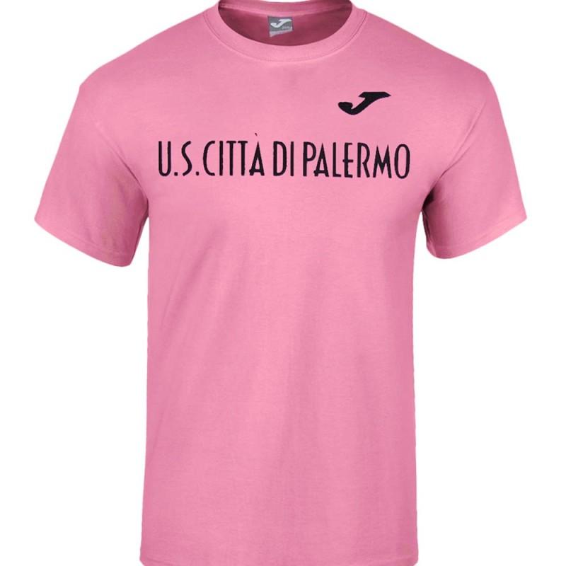 Palermo t-shirt logo Sportswear pink Joma