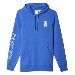 Juventus FC hooded sweatshirt Core Blue Adidas