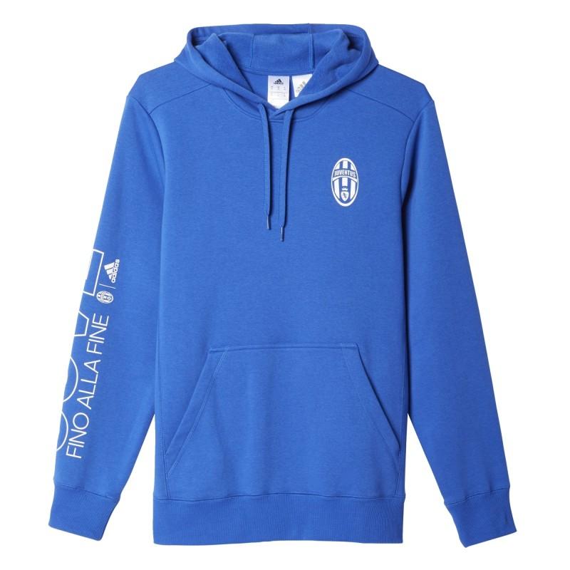 Juventus FC à capuche sweat-shirt Core Bleu Adidas