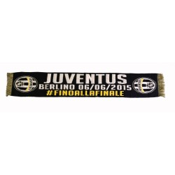 Juventus scarf to celebrate the final Berlin 06/06/2015