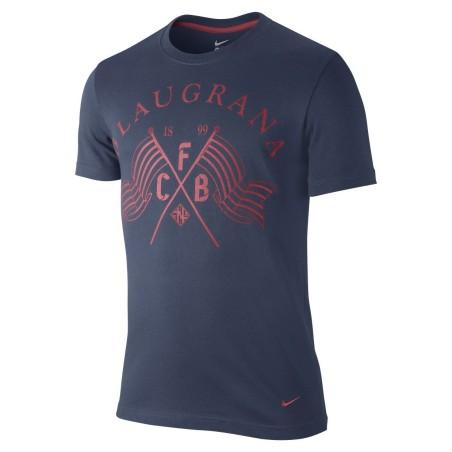El FC Barcelona camiseta core plus Nike