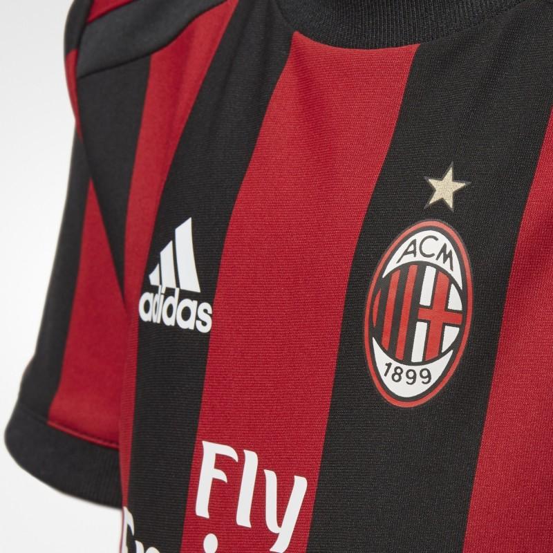 Ac Milan home junior mini kit 201718 Adidas