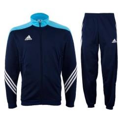 Tuta allenamento Sereno 14 blu navy Adidas