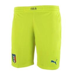 Italia cortos de Portero fluo amarillo Puma
