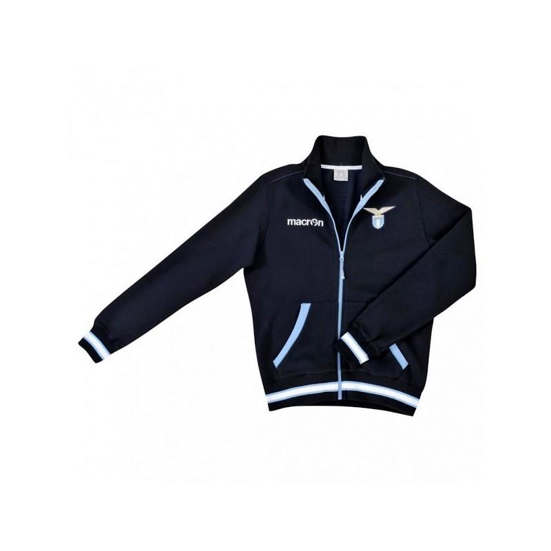 Lazio-sweatshirt team blau Macron