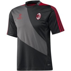 Milan training jersey gris de la UCL Adidas