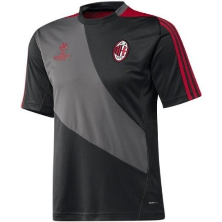 Milan training jersey gris Adidas UCL