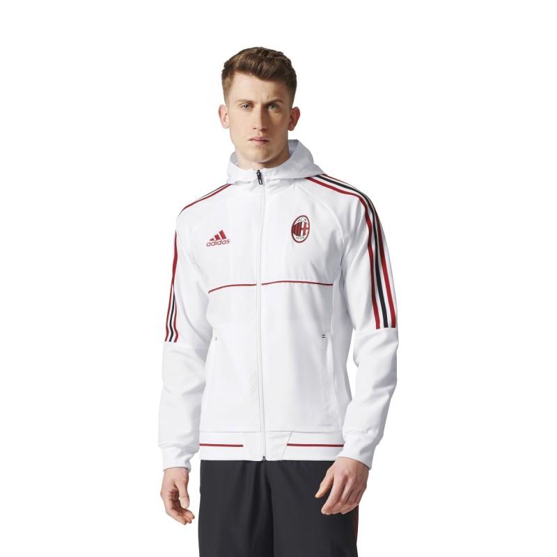 Milán chaqueta-representación de blanco 2017/18 Adidas