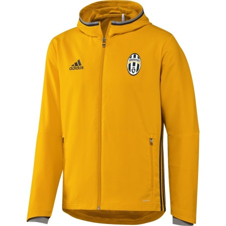 Juventus giacca rappresentanza gialla 2016/17 Adidas