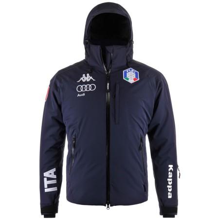 FISI Jacket 6cento 650 Ski Blue Kappa