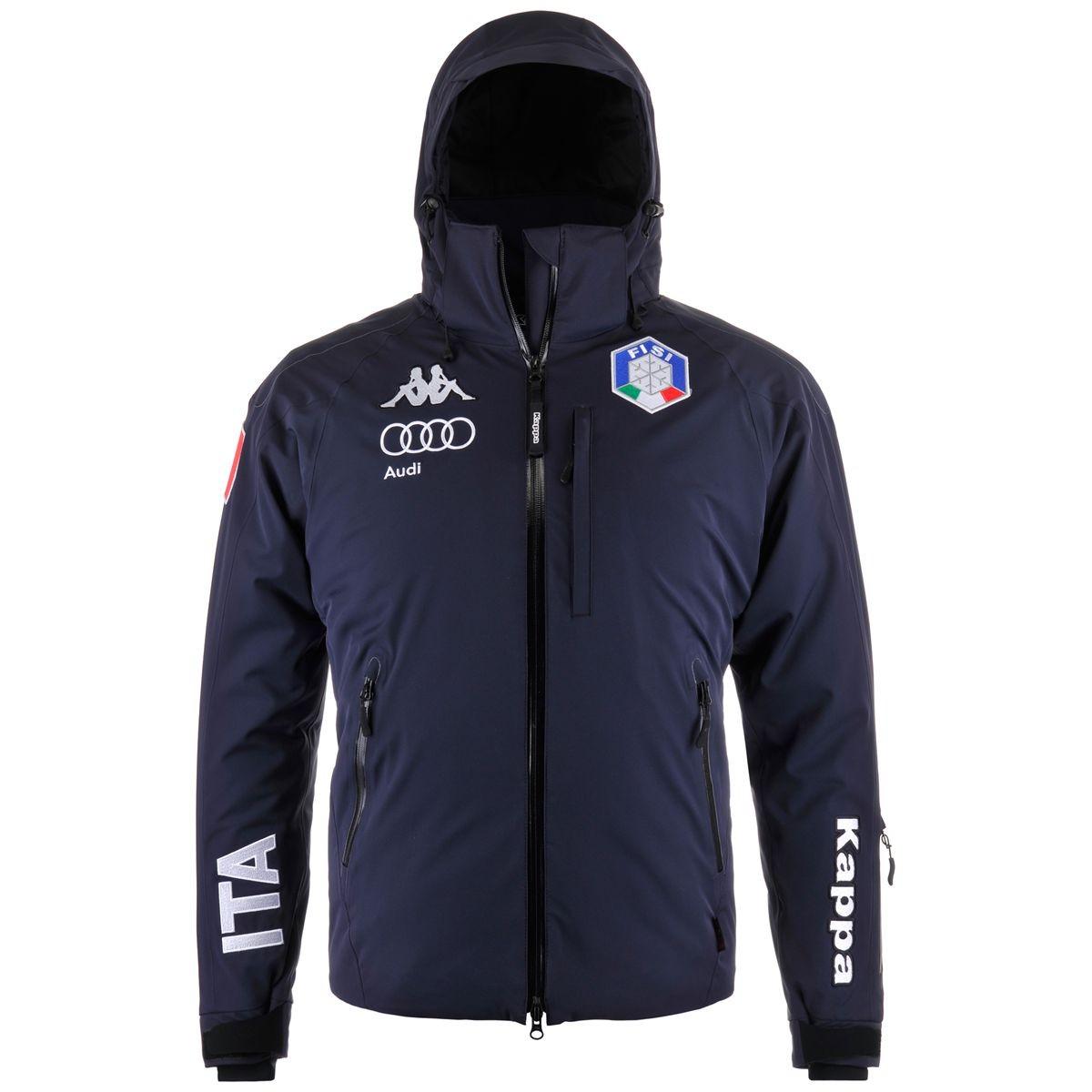 *SALE* Fisi Kappa 6CENTO 611 611A Italy Audi Skiing Team Jacket Coat size XL