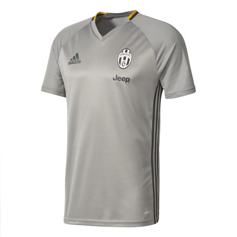 Juventus FC maglia allenamento grigia 2016/17 Adidas