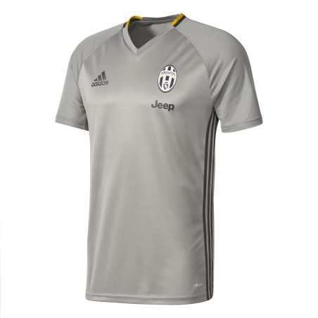 Juventus FC trikot training grau Adidas 2016/17