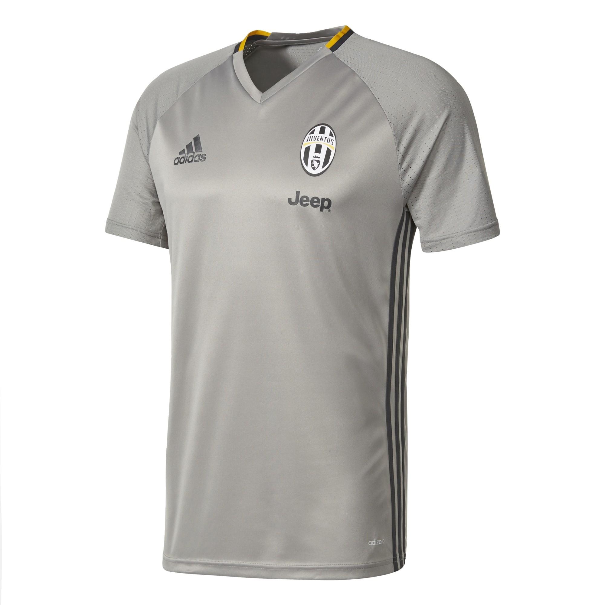 Juventus Fc training jersey grey 2016/17 Adidas