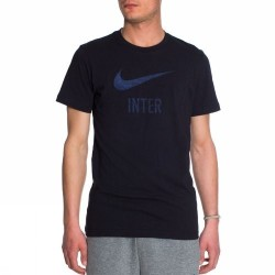 Inter mailand t-shirt basic type schwarz Nike