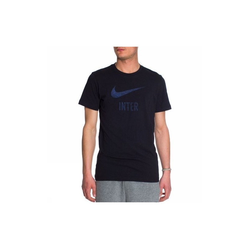 Inter t-shirt basic type black Nike