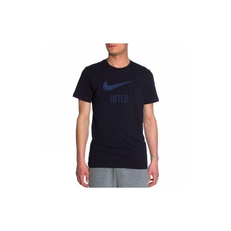 Inter t-shirt basic type nera Nike