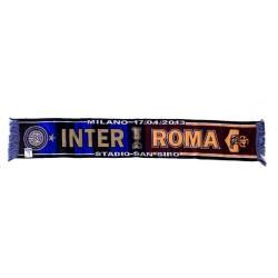 Inter vs Roma sciarpa celebrativa semifinale Coppa Italia