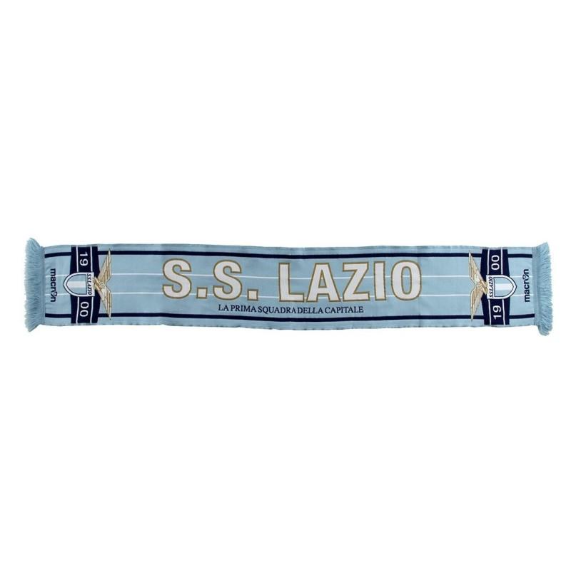 Lazio bufanda VIP Blanco azul Macron