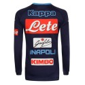 Le SSC Napoli Formation Sweat-shirt bleu Aldreno 2017/18 Kappa