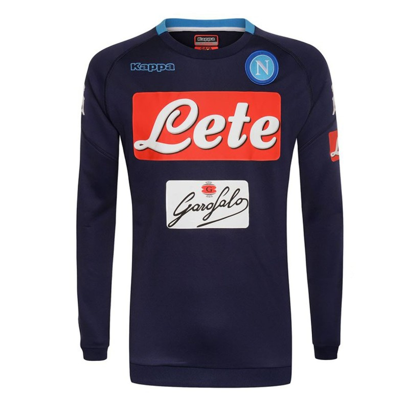 SSC Neapel Sweatshirt Training blau Aldreno 2017/18 Kappa