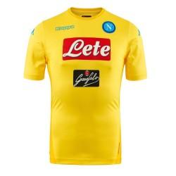 SSC Napoli jersey de distancia amarillo Kombat Extra 2017/18 Kappa