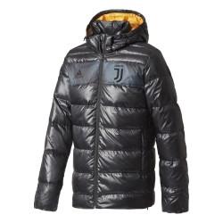La Juventus veste matelassée noir 2017/18 Adidas