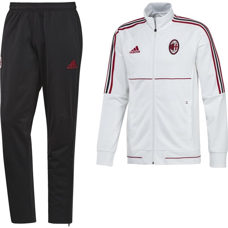 Milán chándal banquillo Blanco 2017/18 Adidas