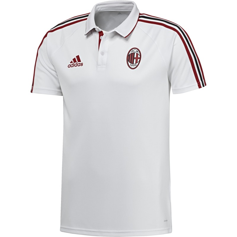 Milan polo vertretung weißen 2017/18 Adidas