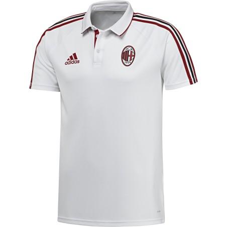Milán polo representación blanco 2017/18 Adidas