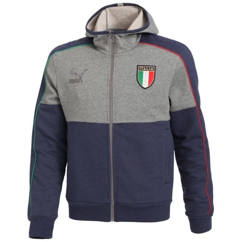 Italien FIGC-sweatshirt mit kapuze Puma T7