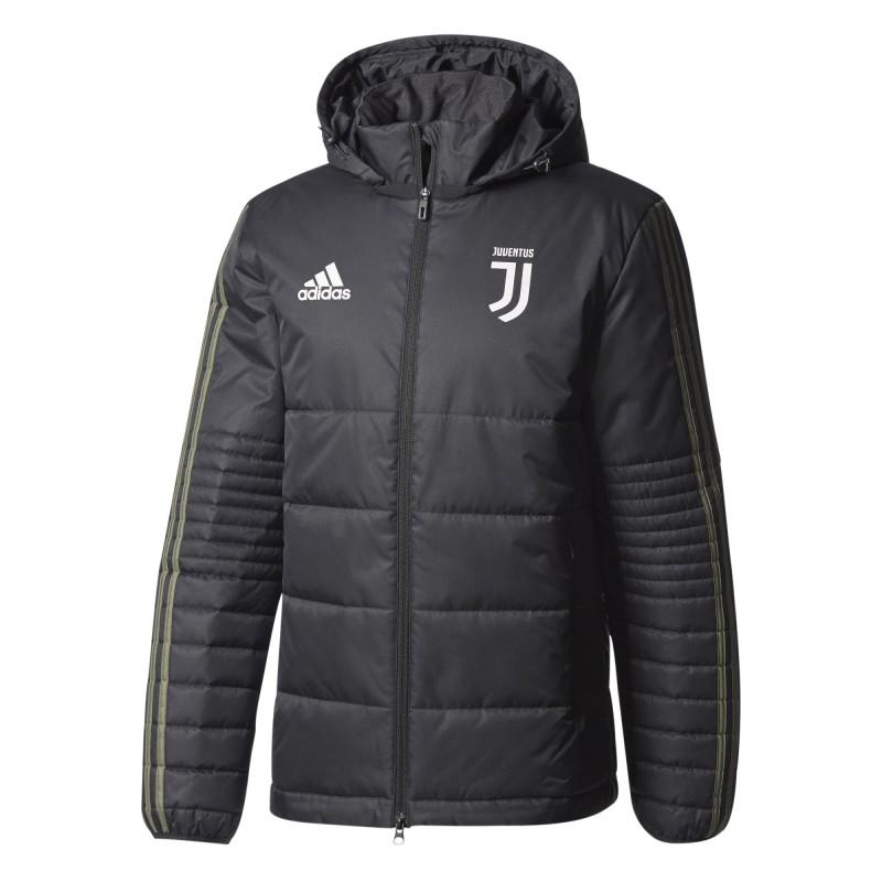 La Juventus de la chaqueta de la UCL negro 2017/18 Adidas