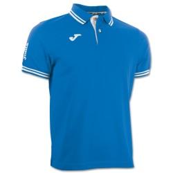 Polo Combi Joma temps libre bleu royal