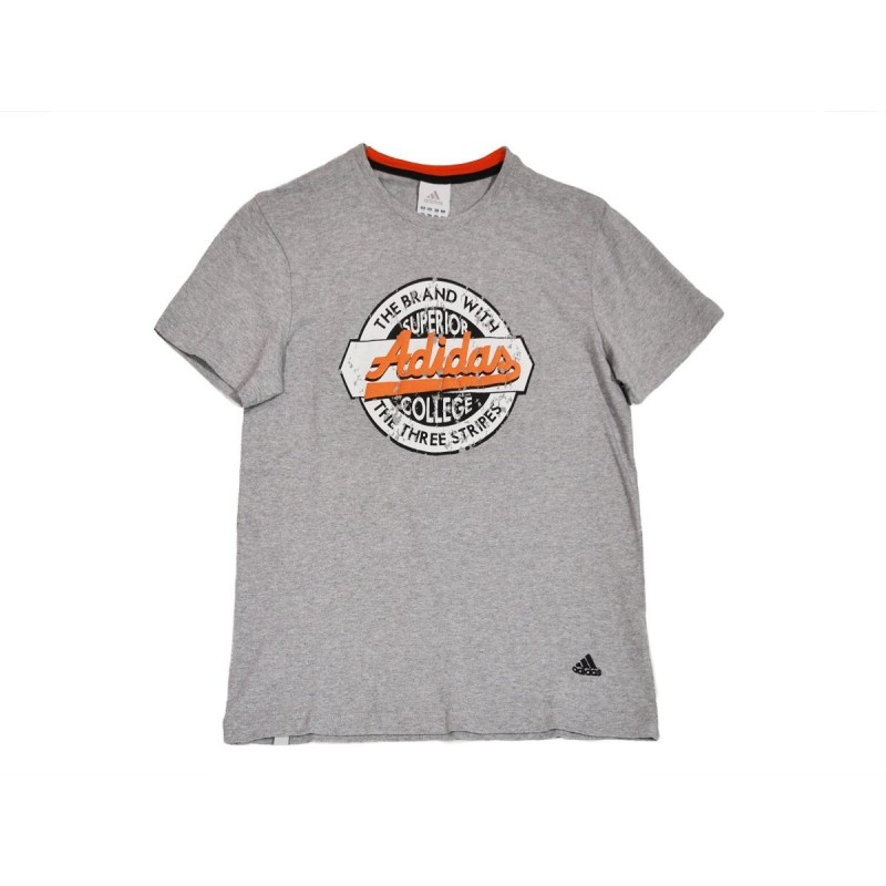 Adidas t-shirt a Summer favorite grey T-shirt