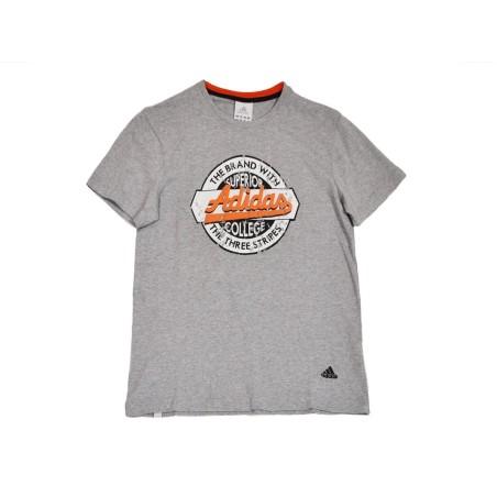 Adidas camiseta de Verano favorito gris T-shirt