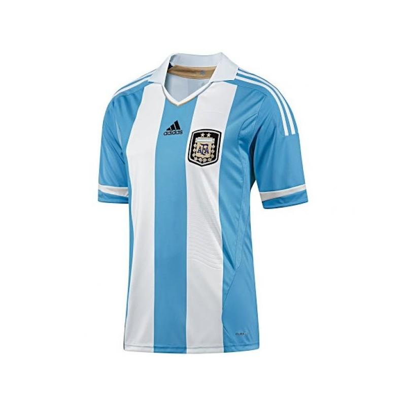 The Adidas Argentina home shirt 2012/14