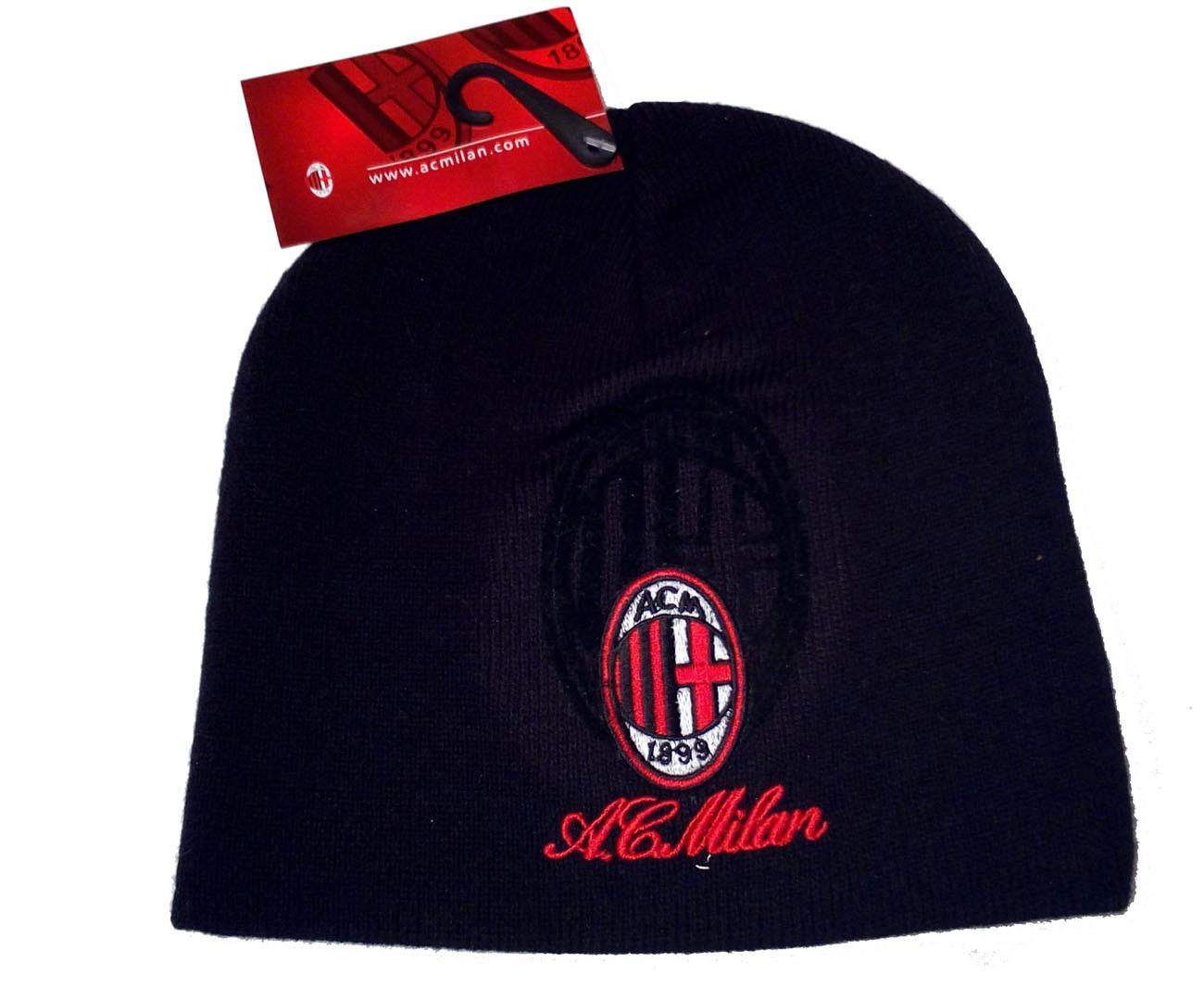 Milan berretto logo prodotto ufficiale 1763d3890e0a
