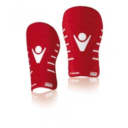 Macron Shin guards Supreme-red-ultra-light