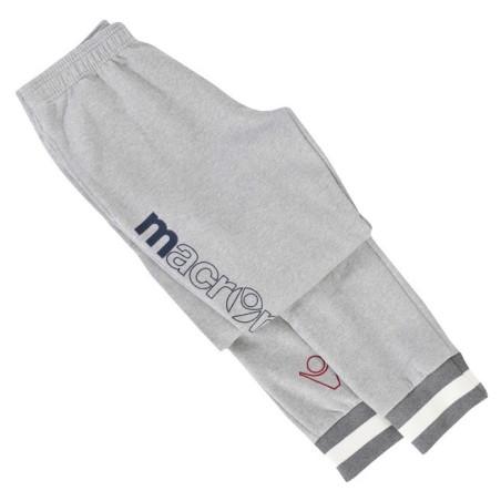 Pantalone felpato Edith grigio Macron