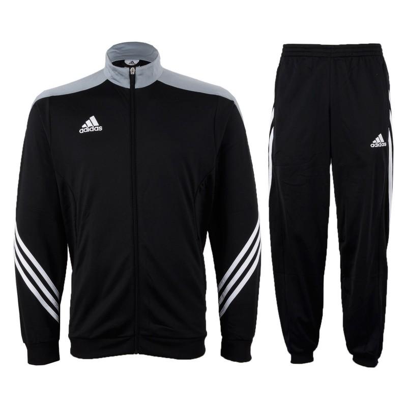 Tuta allenamento Sereno 14 nero Adidas