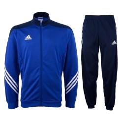 Tuta allenamento Sereno 14 blu cobalto Adidas